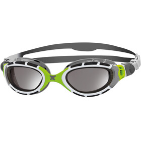 Zoggs Predator Flex - Lunettes de natation - Titanium gris/vert
